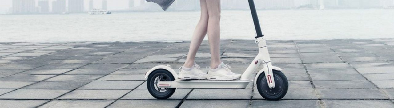 Patinete eléctrico tipo scooter